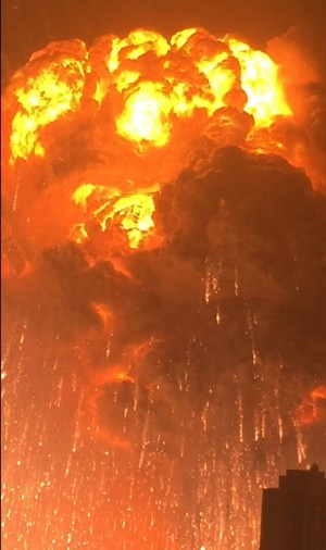 天津爆炸官方公布85死 網友:不止吧?