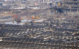網友稱天津爆炸1300人死亡 中國公安上門逮人
