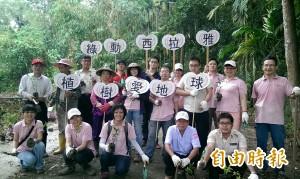 南寮社區植千棵樹 西拉雅螢光蝶舞