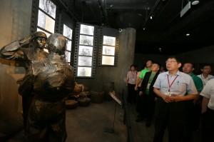 「看歷史記憶」柯文哲參訪四行倉庫