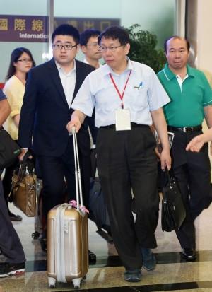 中媒冷處理 上海市民不知道柯P到訪