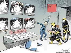 《紐時》:天津大爆炸 暴露中國盤根錯節的政商關係