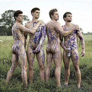 小鮮肉月曆又來了!英大學滑船隊猛男裸體秀身材