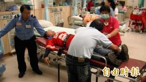 南投虎頭蜂群攻擊農民 8人受傷