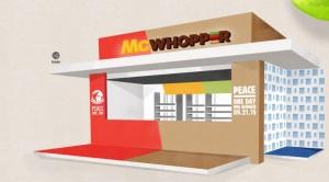漢堡王提「戰爭停火協議」 麥當勞這麼回應...