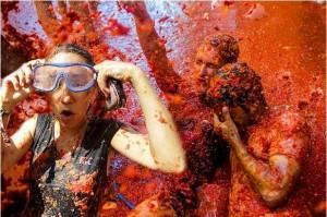 西班牙番茄大戰70週年 瘋狂砸人超歡樂!