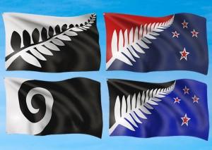 新國旗最終候選出爐 紐西蘭選民11月公投