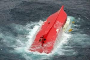 日本漁船多艘翻覆 6人獲救、2人無生命跡象