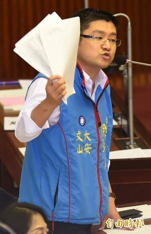 徐弘庭出面向外界致歉 並再嗆柯P藐視議會
