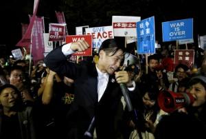 日學運團體SEALDs:受太陽花運動啟發