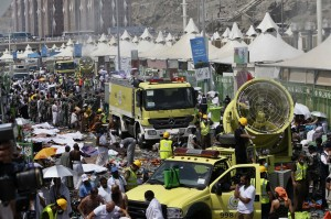 麥加25年來最嚴重踩踏意外 至少717死、805傷