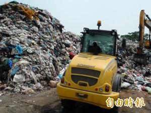 10月起日產200噸 雲縣垃圾危機恐一觸即發