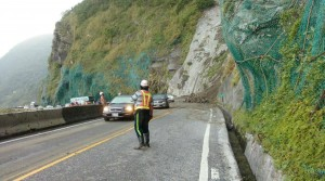 蘇花公路149.8公里處坍方落石 已恢復雙向通車
