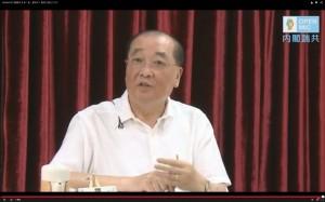 洪孟啟請辭仍上網路直播 疑已接受政院慰留