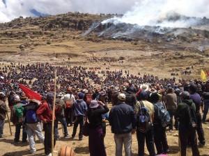 逾萬祕魯農民抗議中資銅礦 3農民遭警射殺