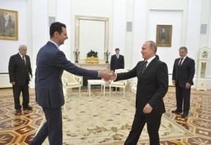 敘利亞總統突訪俄羅斯 會晤普廷