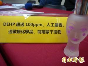 香水變毒水  「洋娃娃」淡香水竟含塑化劑