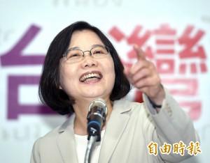 王金平宣稱朱蔡只差50萬票 蔡英文:會看公道伯網站怎麼說