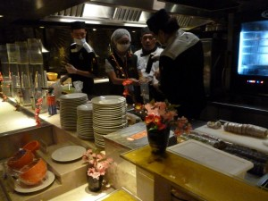 壽司生魚片檢驗不合格 台中知名酒店入列