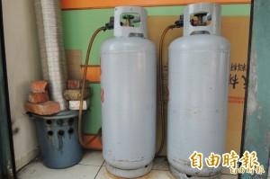 瓦斯確定漲!平均每桶20公斤再多34元