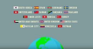 印尼旅遊廣告 出現台灣國旗並標「Taiwan」