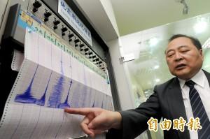 氣象局:年底前恐發生規模6以上地震