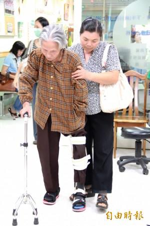 老人家經常跌倒  可能帕金森氏症作祟