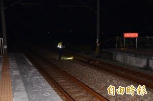 火車撞到人!被撞民眾已死亡