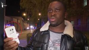 巴黎恐攻生還者 幸運手機擋子彈
