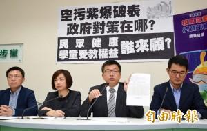 台灣西半部嚴重紫爆 環保署1週內公布草案