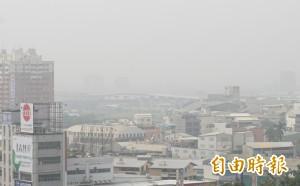 空污分級:緊急程度 戶外賽事將停辦