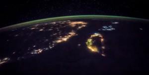 國際太空站公布影片  從太空看台灣原來這麼美