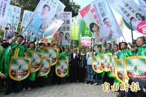 民進黨加第三勢力登記參選「12騎士」陣容壯大