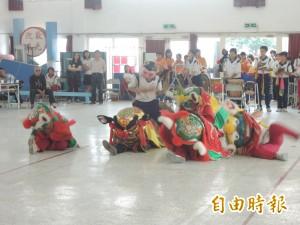 龍獅競賽列入縣長盃比賽項目 參賽隊伍大增