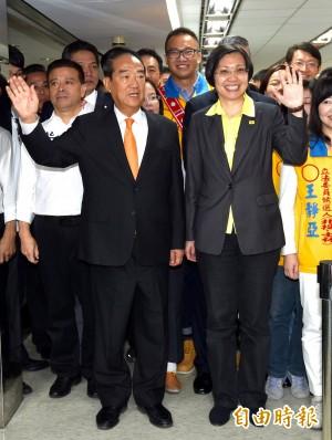 中媒:「宋瑩配」影響「朱王配」 立委選情不樂觀