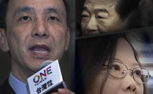 台灣指標民調  蔡44.8% 朱19.1% 宋11.8%