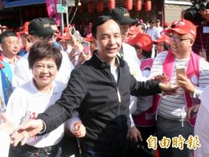 批綠營負面選舉 朱立倫:傷害台灣民主