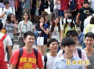 大學新生銳減3萬人 明年51大學科系停招