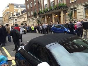 BBC總部傳炸彈疑雲 卻可能是員工停車技術太差...