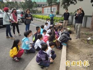 竹縣啟用 首座學校森林示範基地