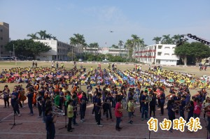 驚豔!台南音樂班聯合成果發表 結合快閃空拍