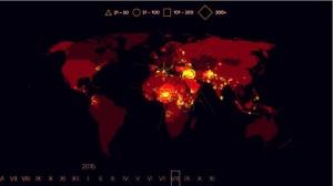 15年來全球恐怖攻擊 3分半鐘看完