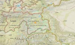塔吉克今午發生芮氏規模7.2強震 印、巴均感震動