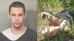 美國「正義」鱷魚 咬死落跑小偷