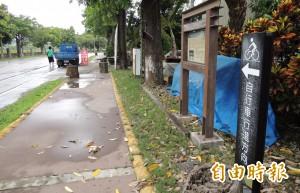 人文、美景兼具 台南山海圳綠道再建2段自行車道