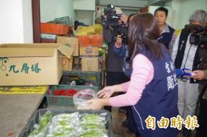 檢驗豆芽菜 雲縣市場逐攤採樣檢驗