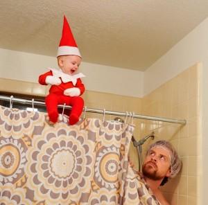 爸爸在家玩寶寶 真人聖誕精靈萌翻天