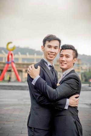感人!男同志婚禮的告白:我是同性戀、我很好