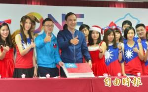 與台灣青創家對談  朱:領導人的觀念是重要選擇
