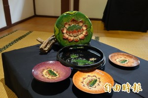 工藝中心漆器研習成果展 台灣「蓬萊塗」有特色